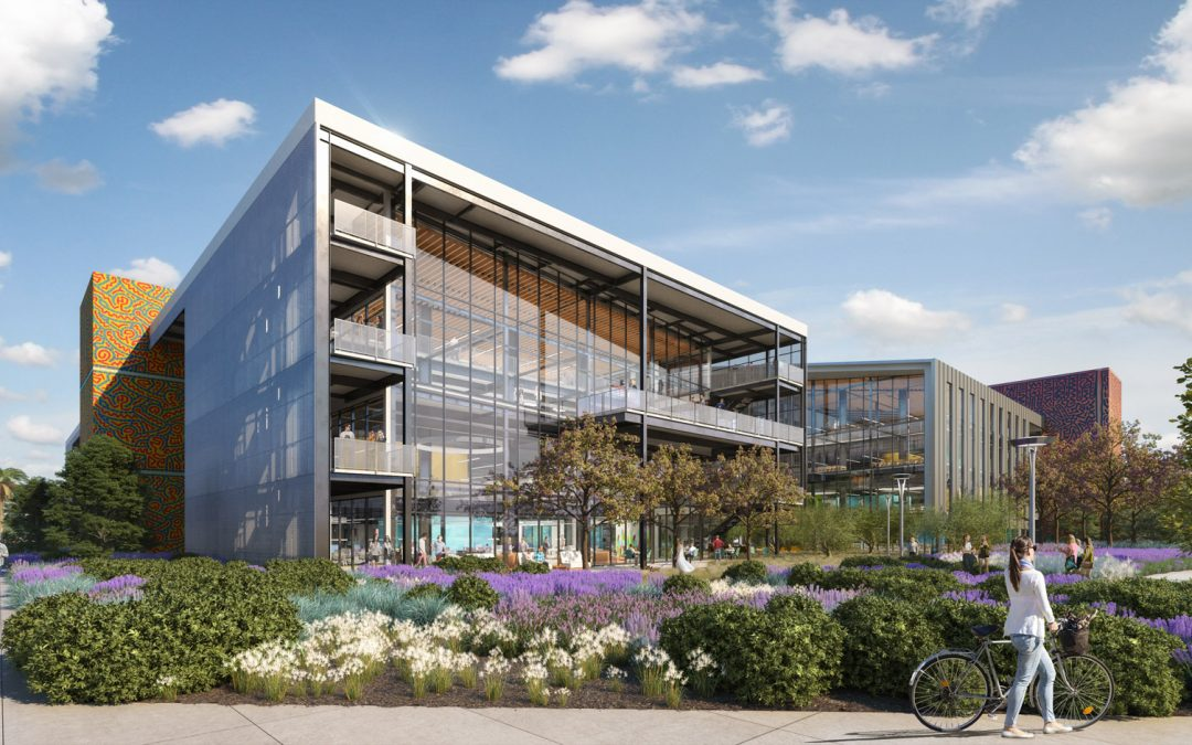 CONSTRUCTION BEGINS ON 38-ACRE CREATIVE OFFICE CAMPUS ENCOMPASSING NEARLY ONE MILLION SQUARE FEET WITHIN TUSTIN LEGACY