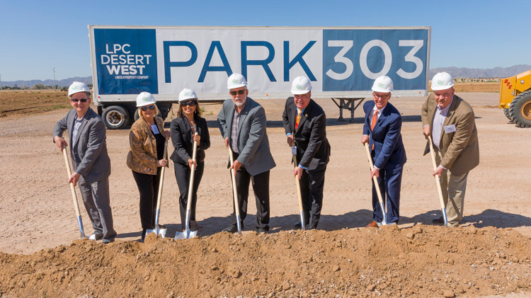 Lincoln Property Co. breaks ground on phase one of industrial park